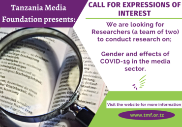 CALL FOR EXPRESSIONS OF INTEREST AND DETAILED TERMS OF REFERENCE